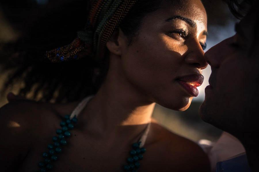 sessão namoro Lisboa Portugal noiva africana