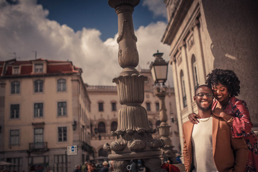 Engagement Session Lisbon Baixa