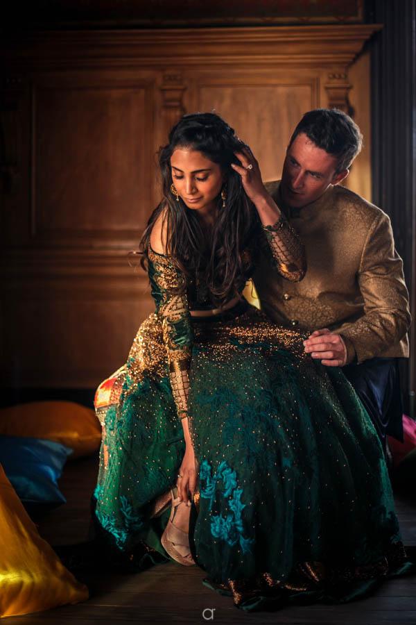 Indian wedding Portugal portraits
