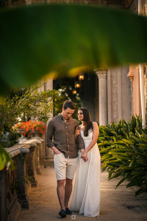 Monserrate Palace Engagement Session