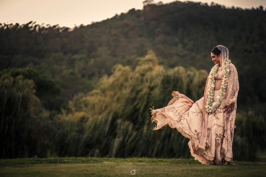 Indian Weddings Portugal -Sara Design Studio Lengha