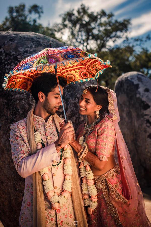 Indian Wedding Tivoli Evora