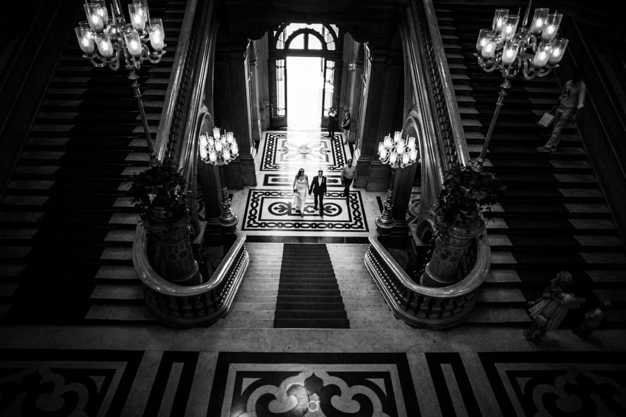 Câmara Municipal de Lisboa Escadarias
