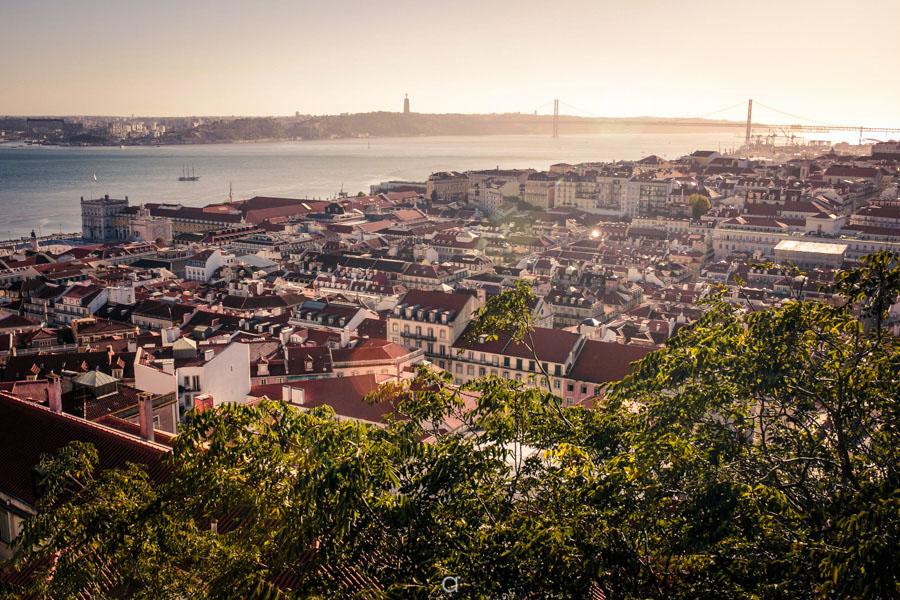 Castelo de S. Jorge, Lisboa, Rio Tejo