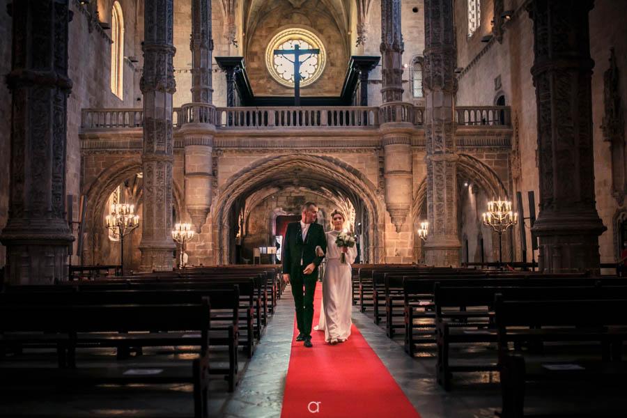 entrada da noiva Mosteiro dos Jerónimo
