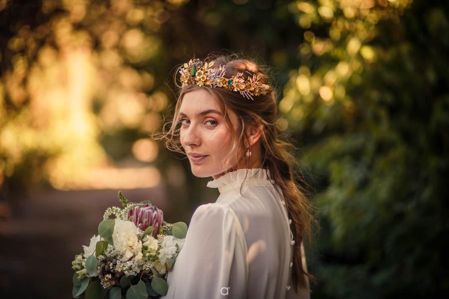 Retrato noiva nórdica