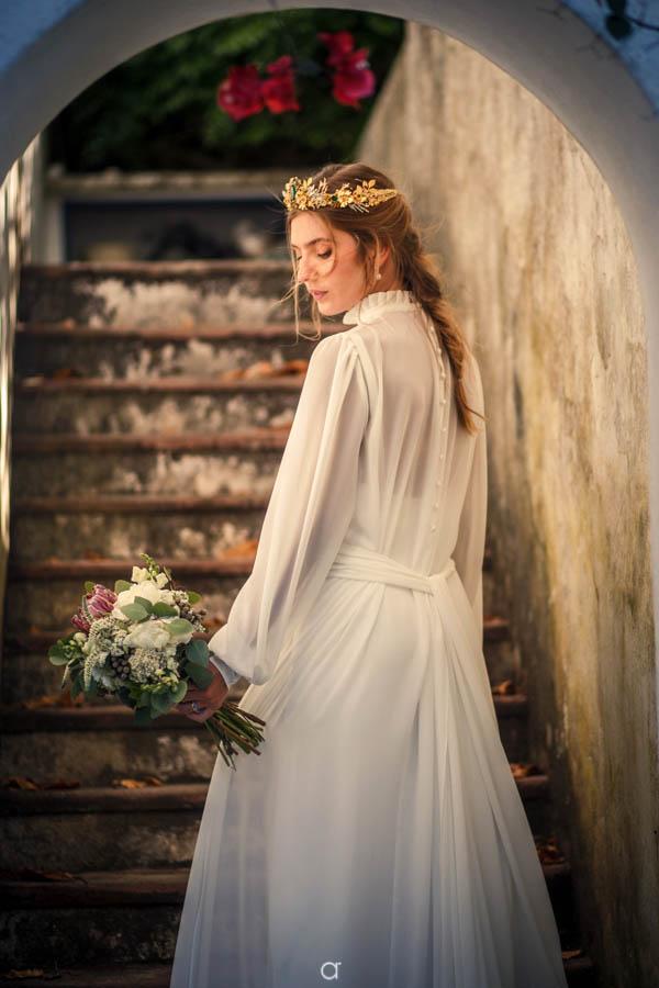 Quinta Senhor da Serra retrato noiva
