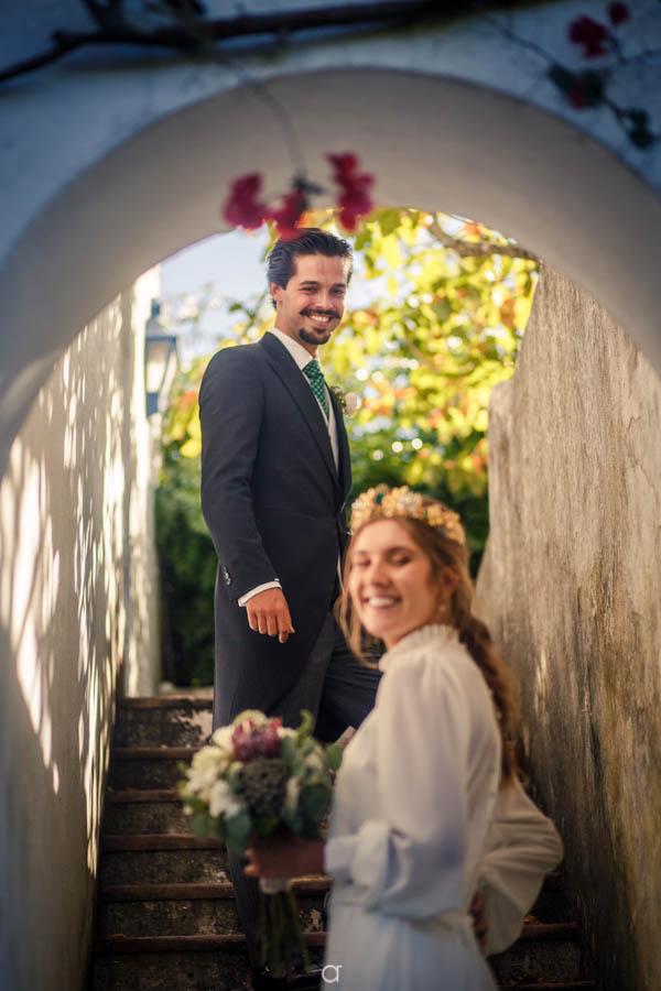 Quinta Senhor da Serra Retrato dos noivos