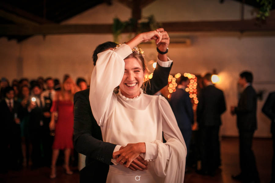 Quinta Senhor da Serra primeira dança noiva feliz
