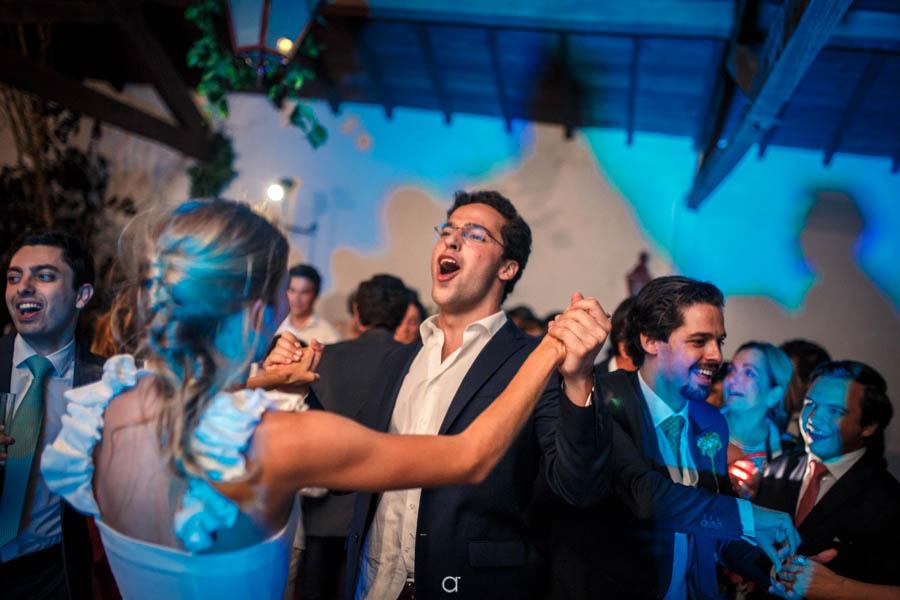 Quinta Senhor da Serra noiva com padrinho